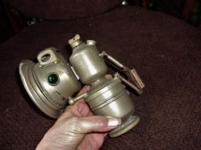 ANTIQUE ? COLLECTABLE AUTOMOBILIA POWELL & HAMMER P&H PANTHER BICYCLE LAMP